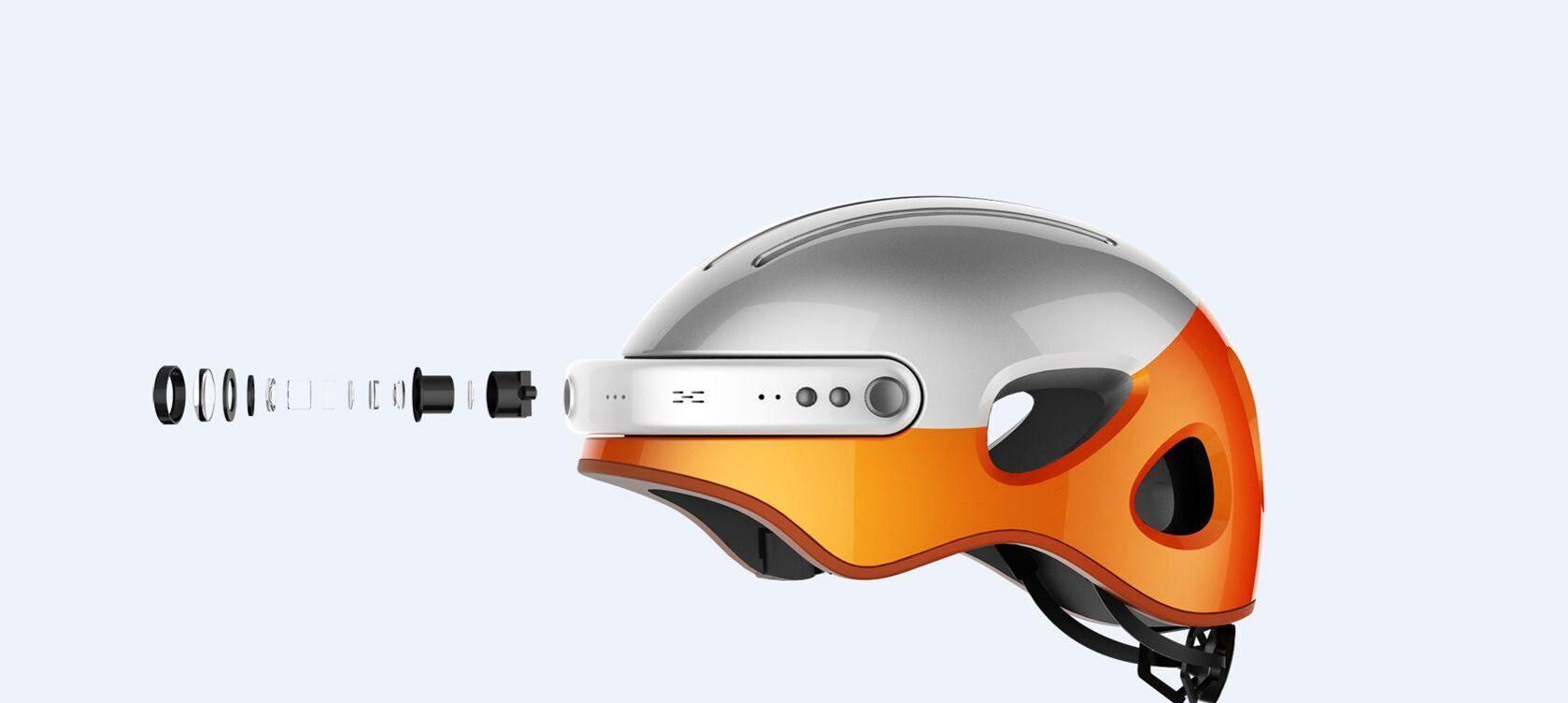 шлем с камерой airwheel